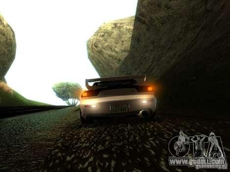 Mazda RX-7 TypeR for GTA San Andreas back view