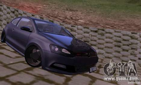 Volkswagen Polo GTI Stanced for GTA San Andreas left view