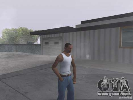 The ability to smoke for GTA San Andreas second screenshot