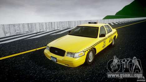 Ford Crown Victoria Raccoon City Taxi for GTA 4