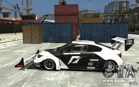 Scion tC AWD V1.0 for GTA 4 left view