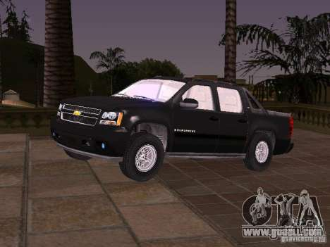 Chevrolet Avalanche for GTA San Andreas
