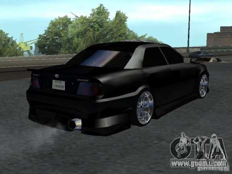 Toyota Chaser JZX 100 Tunable for GTA San Andreas left view