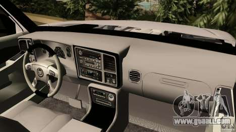 Cadillac Escalade for GTA Vice City right view