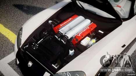 Dodge Viper SRT-10 ACR 2009 v2.0 [EPM] for GTA 4 back view