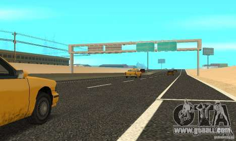 New road surface for GTA San Andreas