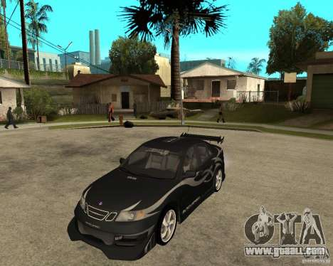Saab 9-3 from GM Rally Version 2 for GTA San Andreas