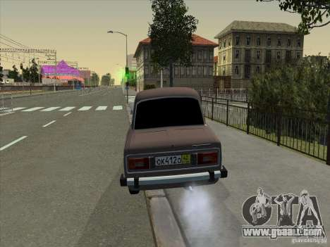 VAZ 2106 Taxi for GTA San Andreas inner view