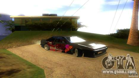 Toyota AE86 Coupe - Final for GTA San Andreas right view