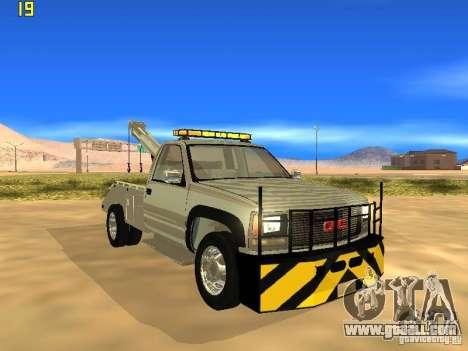 GMC Sierra Tow Truck for GTA San Andreas