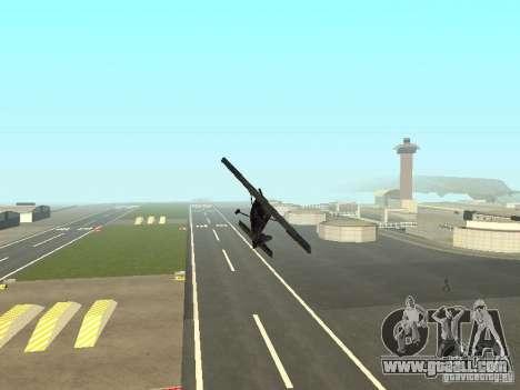 A new plane-Dodo for GTA San Andreas upper view