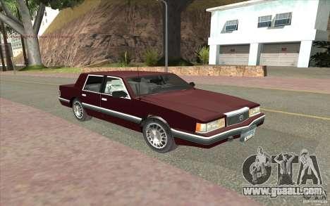 Chrysler Dynasty for GTA San Andreas left view