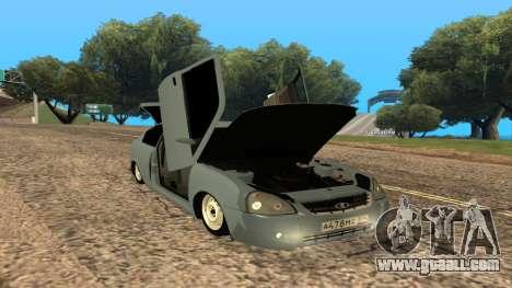 LADA Priora 2172 for GTA San Andreas engine