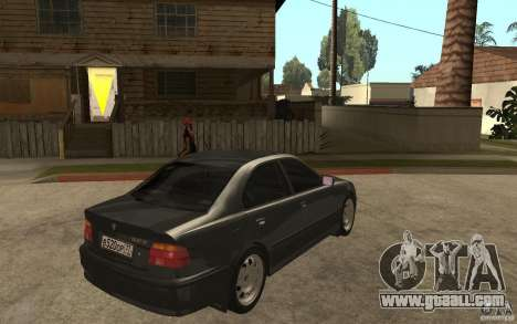 BMW 523i E39 1997 for GTA San Andreas right view