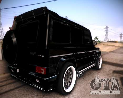 Mercedes-Benz G65 AMG 2013 Hamann for GTA San Andreas left view