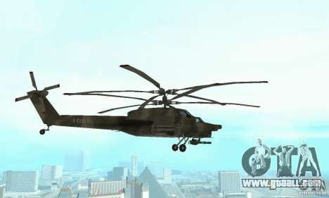 Mi-28 for GTA San Andreas