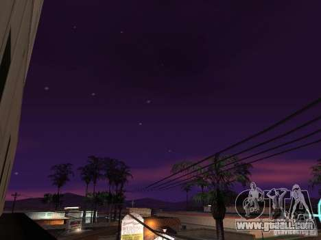 Timecyc - Purple Night v2.1 for GTA San Andreas ninth screenshot
