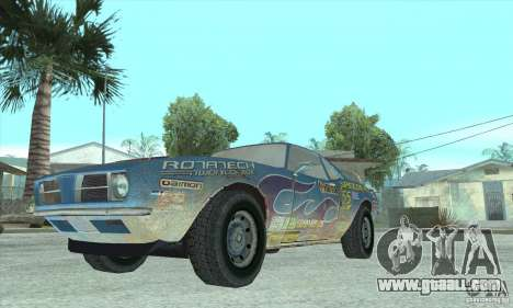Speedevil from FlatOut for GTA San Andreas back view