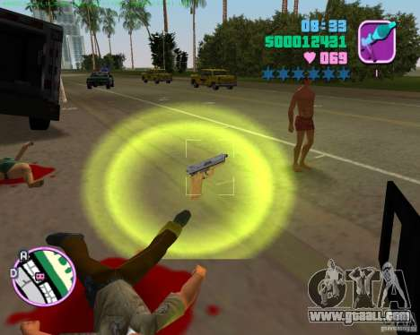 USP-45 in a desert dying of for GTA Vice City forth screenshot
