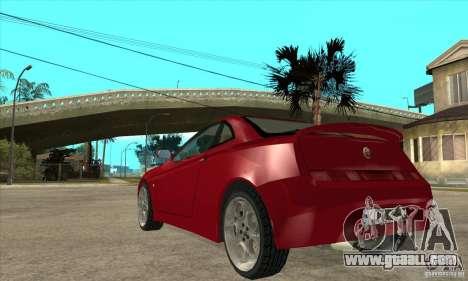 Alfa Romeo GTV for GTA San Andreas back left view