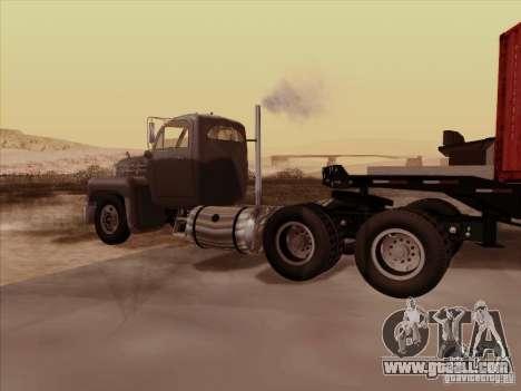 Mack B 61 for GTA San Andreas right view