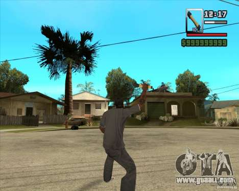Rocket m-24 for GTA San Andreas third screenshot