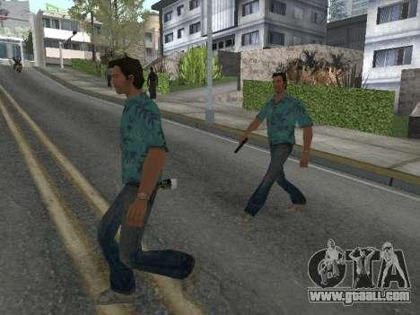 New skins Grove Street for GTA San Andreas