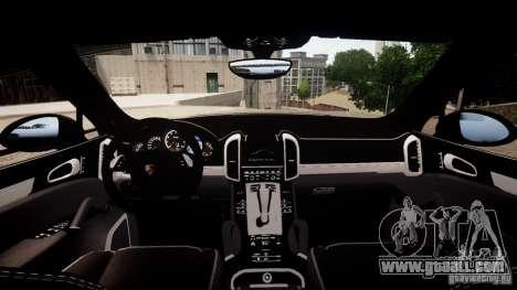 Porsche Cayenne Turbo 2012 for GTA 4 right view