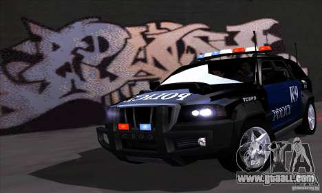NFS Undercover Police SUV for GTA San Andreas