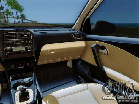 Volkswagen Polo 6R TSI Edit for GTA San Andreas back view