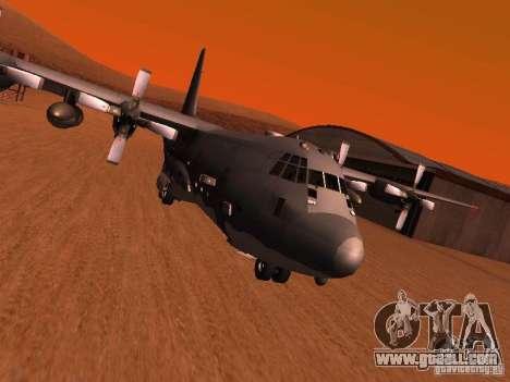 AC-130 Spooky II for GTA San Andreas