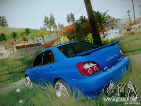 Subaru Impreza WRX STI for GTA San Andreas