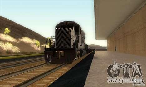 Russian Rail v2.0 for GTA San Andreas