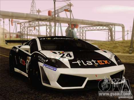 Lamborghini Gallardo LP560-4 GT3 V2.0 for GTA San Andreas