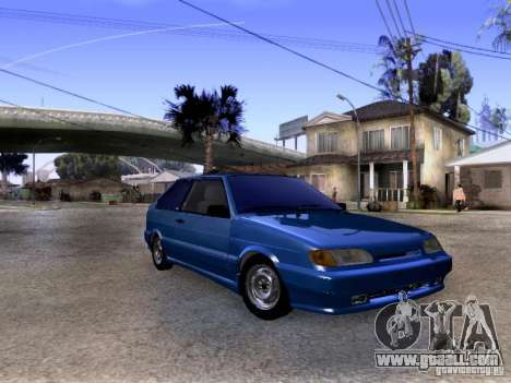 VAZ 2113 Stock for GTA San Andreas left view