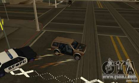 The SPIKES on the road for GTA San Andreas second screenshot