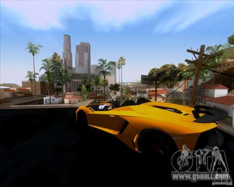 Lamborghini Aventador J TT Black Revel for GTA San Andreas left view