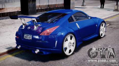 Nissan 350Z Veilside Tuning for GTA 4 engine