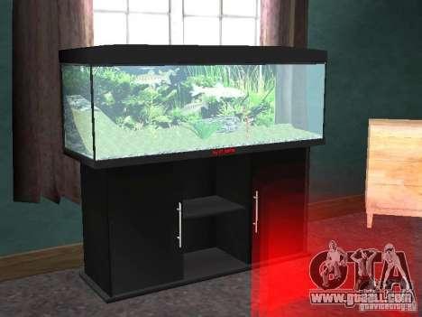 Aquarium for GTA San Andreas second screenshot