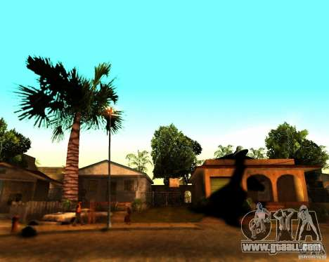 ENB For medium PC for GTA San Andreas fifth screenshot