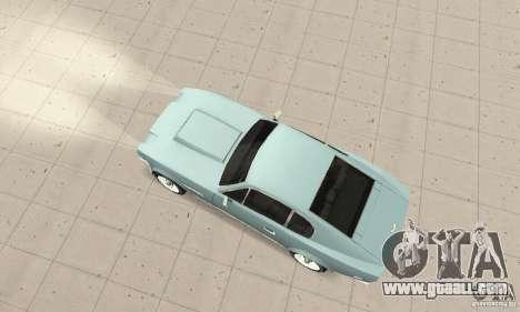 Aston Martin V8 for GTA San Andreas back left view