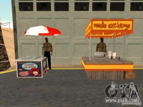 New hot dog seller for GTA San Andreas