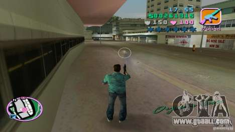 Shooting With One Hand for GTA Vice City