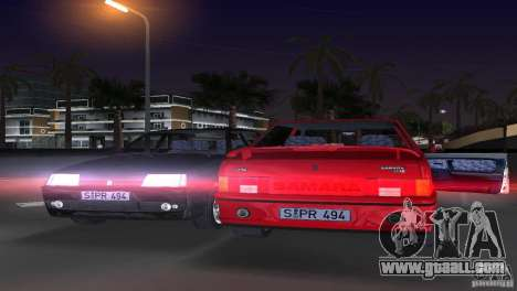 VAZ 21099 DeLuxe for GTA Vice City back left view