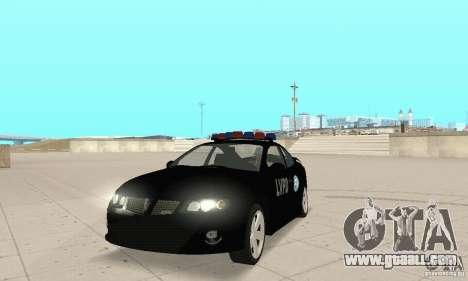 Pontiac GTO 2004 Cop for GTA San Andreas