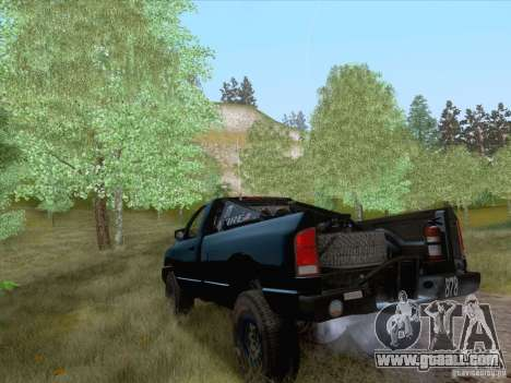 Dodge Ram Trophy Truck for GTA San Andreas left view
