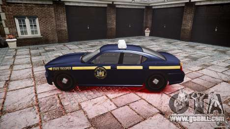 New York State Police Buffalo for GTA 4 left view