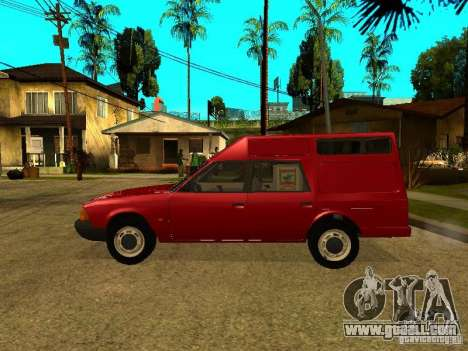 AZLK 2901 for GTA San Andreas left view