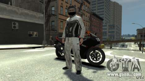 BIKER BOYZ Clothes and HELMET Version 1.1 for GTA 4 second screenshot
