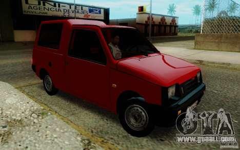 SEAZ Oka Pickup for GTA San Andreas back view